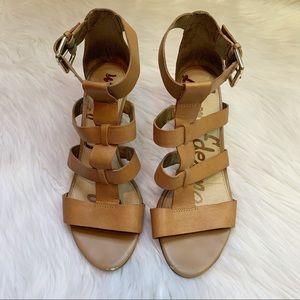 Sam Edelman Gladiator Wedge Sandals